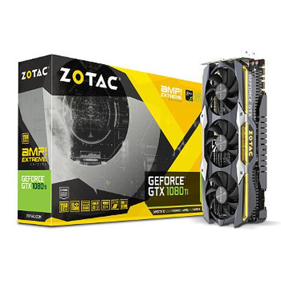 Carte graphique Zotac GeForce GTX 1080 Ti AMP! Extreme - 11 Go