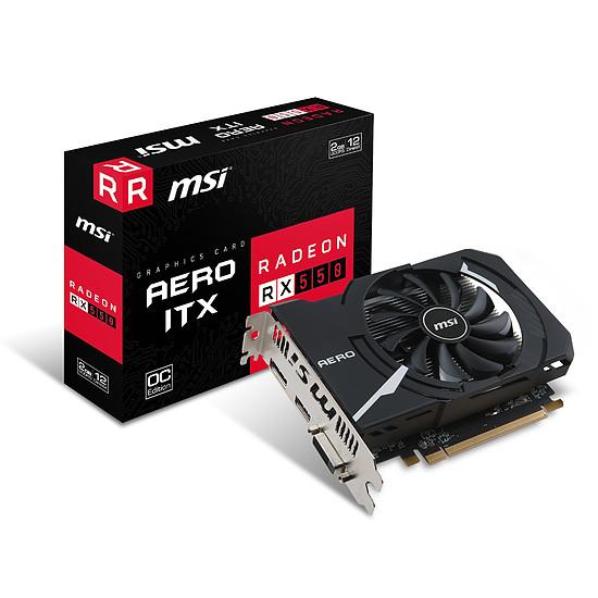 Carte graphique MSI Radeon RX 550 Aero ITX 2 Go OC