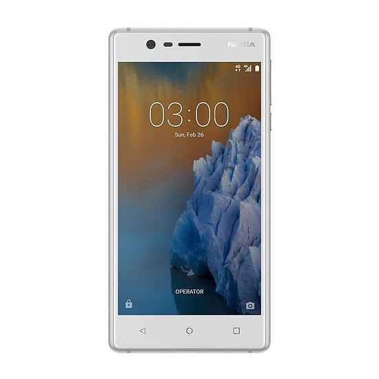 Smartphone et téléphone mobile Nokia 3 (argent)