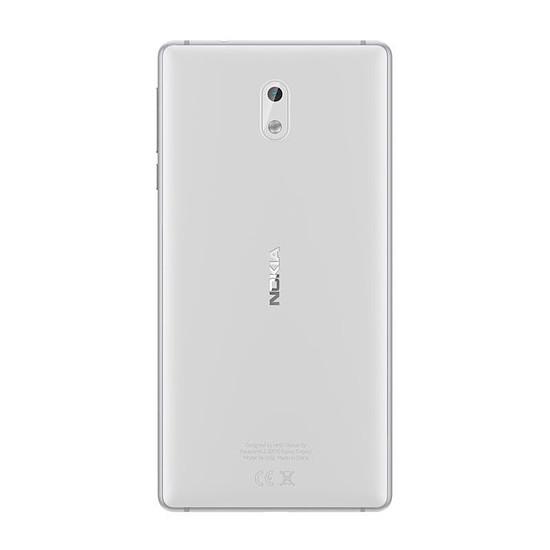 Smartphone et téléphone mobile Nokia 3 (argent) - Autre vue