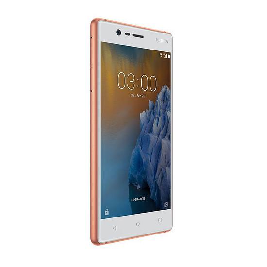 Smartphone et téléphone mobile Nokia 3 (cuivre) - Autre vue