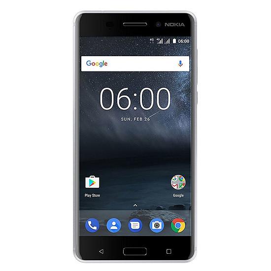 Smartphone et téléphone mobile Nokia 6 (argent)