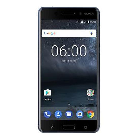 Smartphone et téléphone mobile Nokia 6 (bleu trempé)