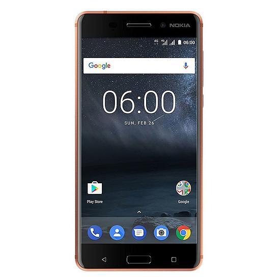 Smartphone et téléphone mobile Nokia 6 (cuivre)