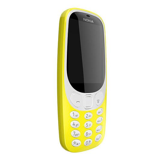 Smartphone et téléphone mobile Nokia 3310 - Double SIM (jaune) - Autre vue