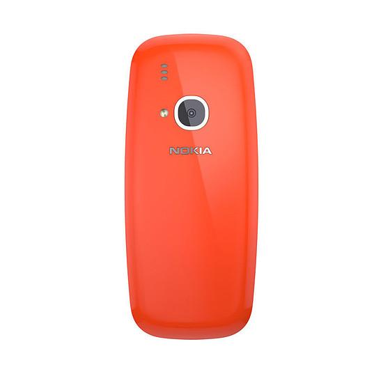 Smartphone et téléphone mobile Nokia 3310 - Double SIM (rouge) - Autre vue