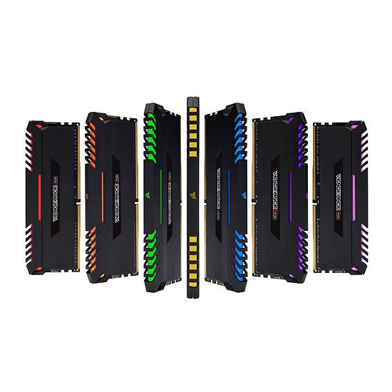 Mémoire Corsair Vengeance RGB DDR4 2 x 8 Go 3466 MHz CAS 16 - Autre vue