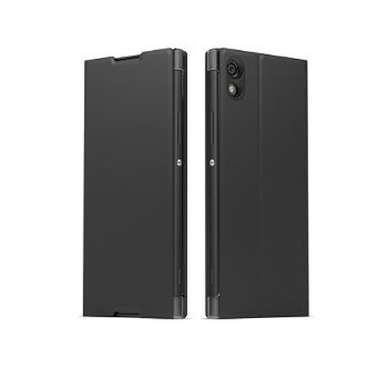 Coque et housse Sony Mobile Style cover stand (noir)- Xperia XA1