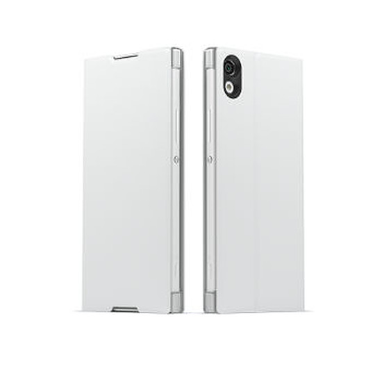 Coque et housse Sony Mobile Style cover stand (blanc)- Xperia XA1 Ultra