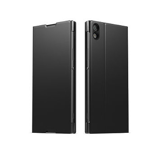 Coque et housse Sony Mobile Style cover stand (noir)- Xperia XA1 Ultra