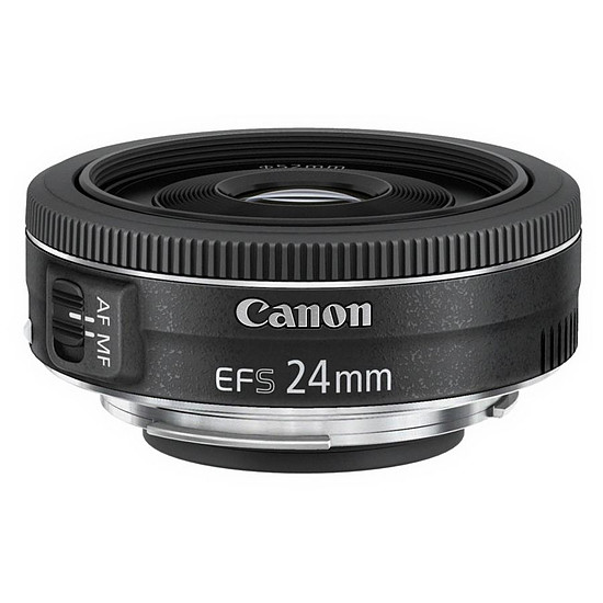 Objectif pour appareil photo Canon EF-S 24mm f/2.8 STM - Occasion · Occasion