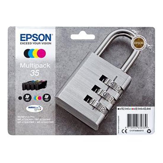 Cartouche imprimante Epson Multipack 4 couleurs 35 Cadenas