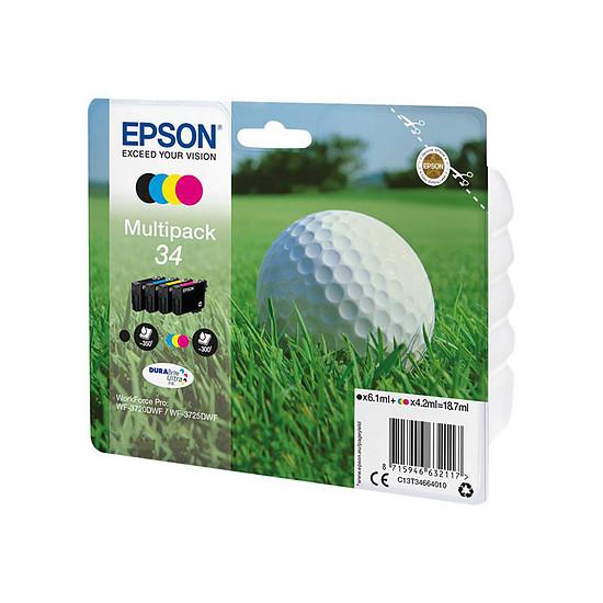 Cartouche imprimante Epson Multipack 34 - Balle de golf - 4 couleurs - Autre vue