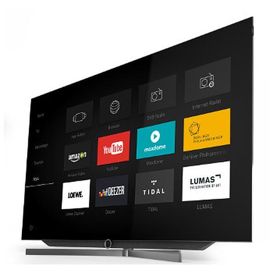 TV Loewe BILD 7 65 + pied de table