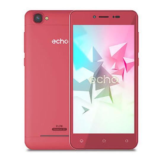 Smartphone et téléphone mobile Echo Flow (rouge)