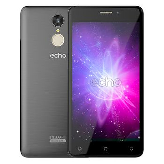 Smartphone et téléphone mobile Echo Stellar 4G (noir)