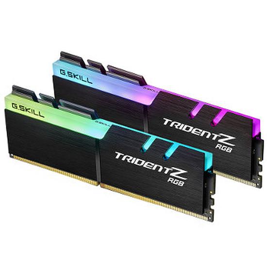 Mémoire G.Skill Trident Z RGB DDR4 2 x 16 Go 3200 MHz CAS 14