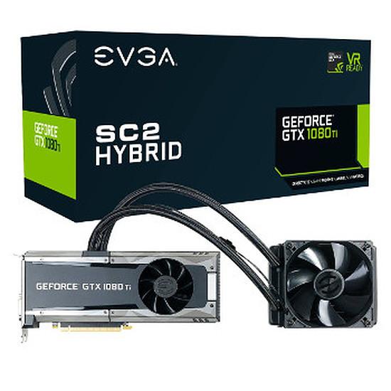 Carte graphique EVGA GeForce GTX 1080 Ti SC2 Hybrid Gaming ICX - 11 Go