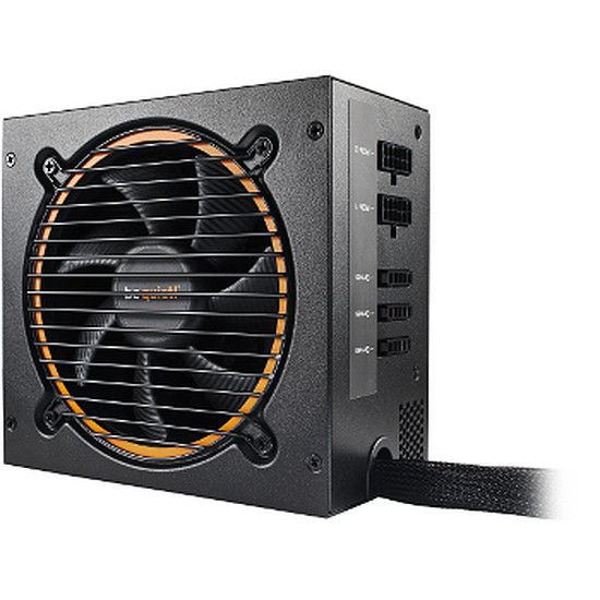 Alimentation PC Be Quiet Pure Base 600 Silver + Pure Power 10 CM 600W