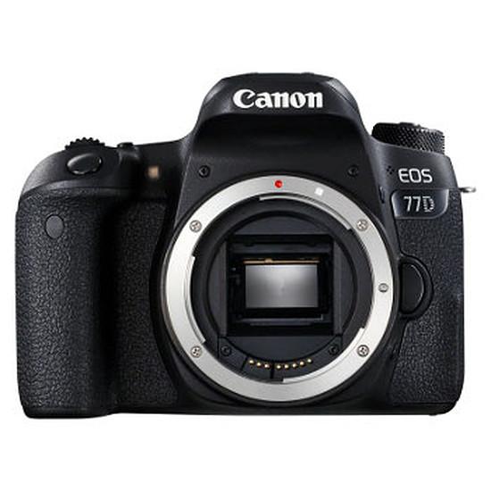 Appareil photo Reflex Canon EOS 77D (boitier nu) + Sac à dos + SD 16 Go (Pack)