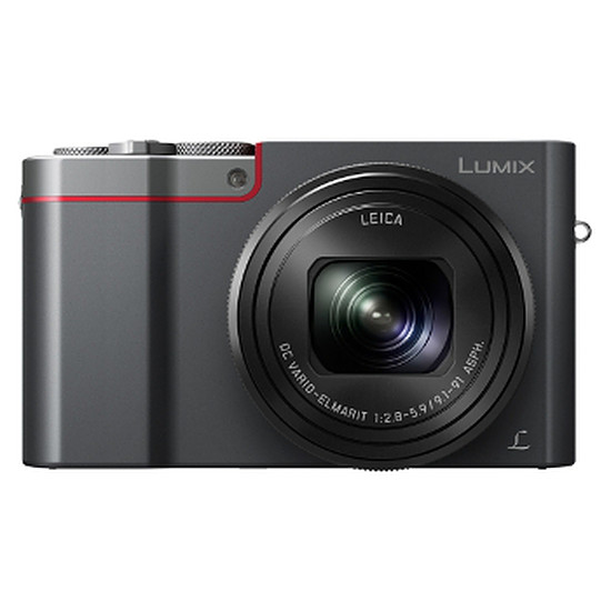 Appareil photo compact ou bridge Panasonic Lumix TZ100 Silver + Etui + Carte SD 16 Go (Pack)