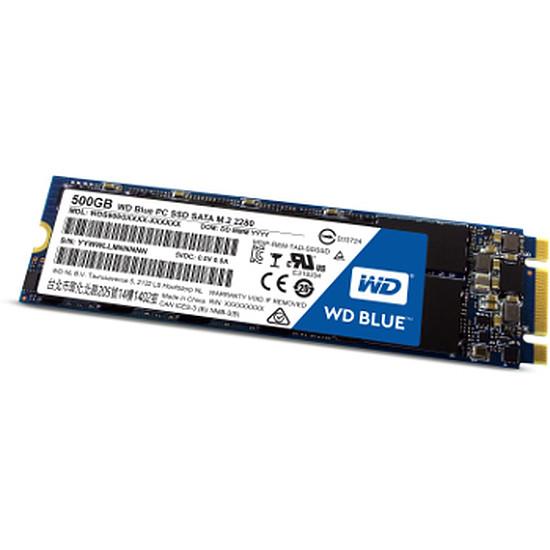 Disque SSD Western Digital (WD) Blue 500 Go M.2 2280