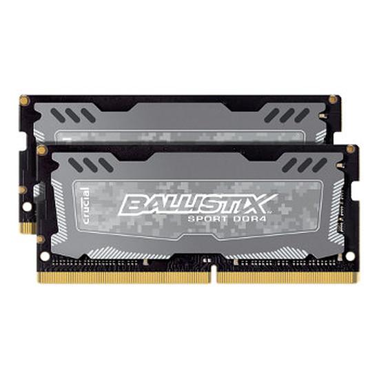 Mémoire Ballistix SO-DIMM Sport LT DDR4 2 x 4 Go 2666 MHz
