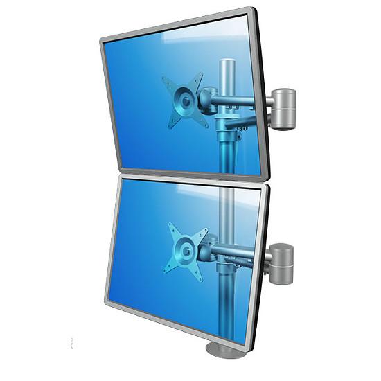 Bras & support écran PC Dataflex Support double écrans - 52.682 - Autre vue