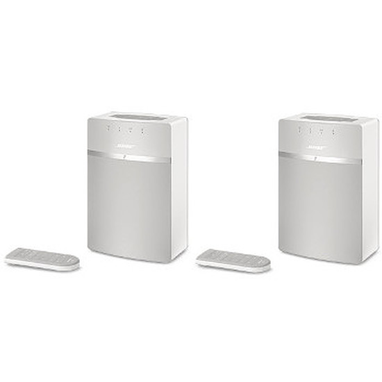 Système Audio Multiroom Bose Pack Duo Système audio Wi-Fi SoundTouch 10 Blanc