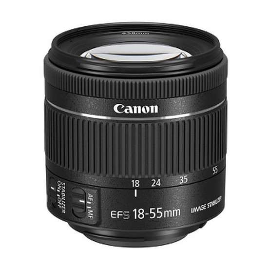 Objectif pour appareil photo Canon EF-S 18-55mm f/4.5-6 IS STM
