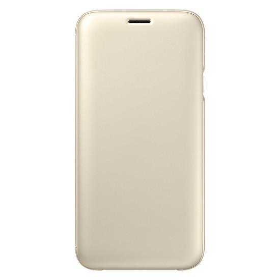 Coque et housse Samsung Flip Wallet (or) - Galaxy J7 2017 - Autre vue