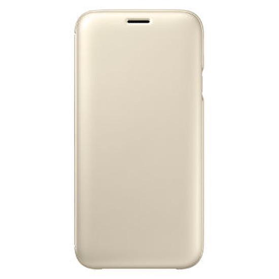 Coque et housse Samsung Flip Wallet (or) - Galaxy J5 2017