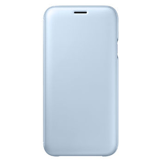Coque et housse Samsung Flip Wallet (bleu) - Galaxy J5 2017