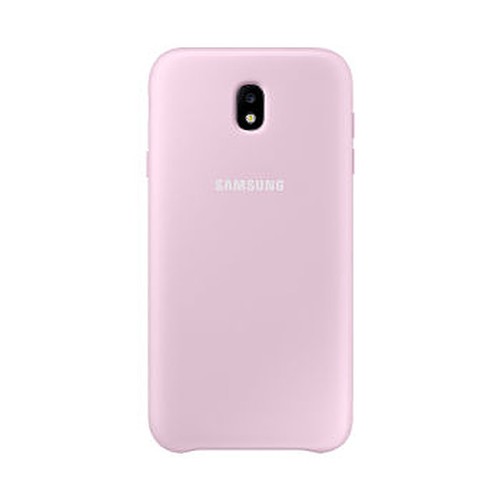 Coque et housse Samsung Coque double protection (rose) - Galaxy J7 2017