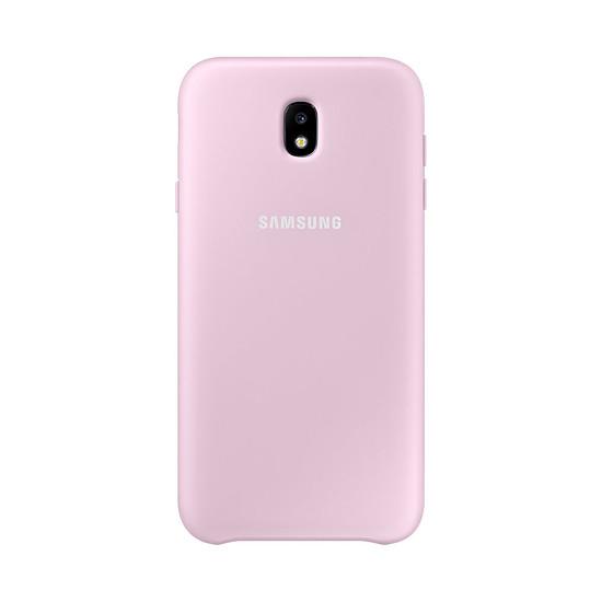 Coque et housse Samsung Coque double protection (rose) - Galaxy J7 2017 - Autre vue