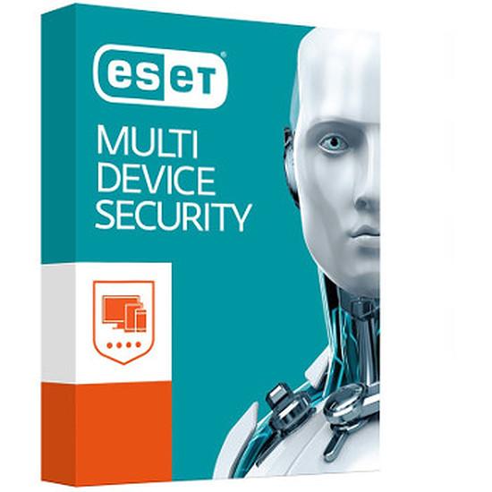 Antivirus et sécurité ESET Multi-Device Security Pack 2017 (1 an 5 postes)