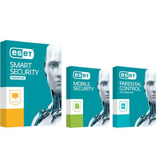 Antivirus et sécurité ESET Smart Security Premium 2017 (1 an 1 poste)