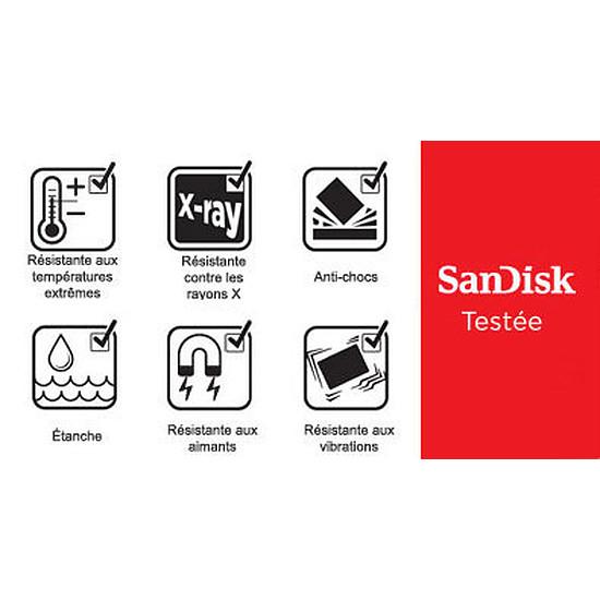 Carte mémoire Sandisk Extreme micro SDHC 32 Go (90Mo/s) + adaptateur SD - Autre vue