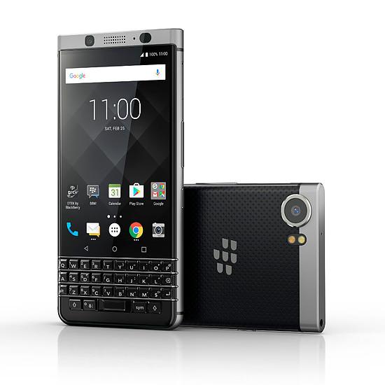 Smartphone et téléphone mobile BlackBerry KEYone (argent) - Azerty