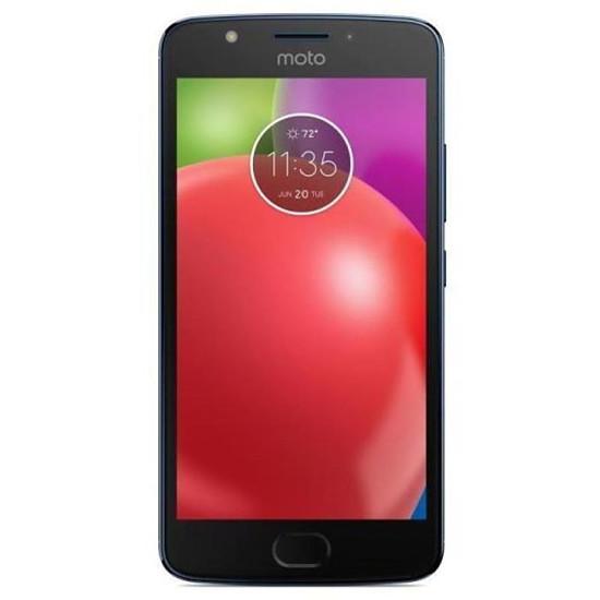 Smartphone et téléphone mobile Motorola Moto E4 (bleu)