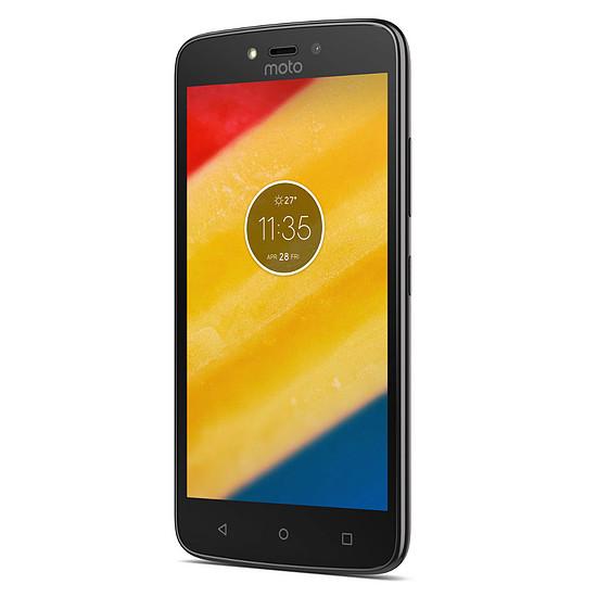 Smartphone et téléphone mobile Motorola Moto C Plus (noir)