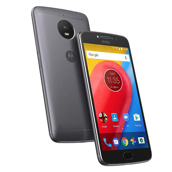 Smartphone et téléphone mobile Motorola Moto E4 Plus (gris)