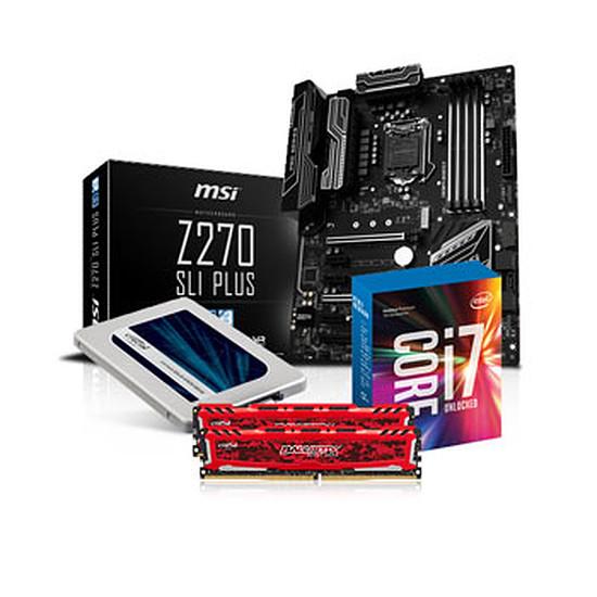 Kit d'évolution PC Materiel.net Antibio Kit + SSD 275 Go
