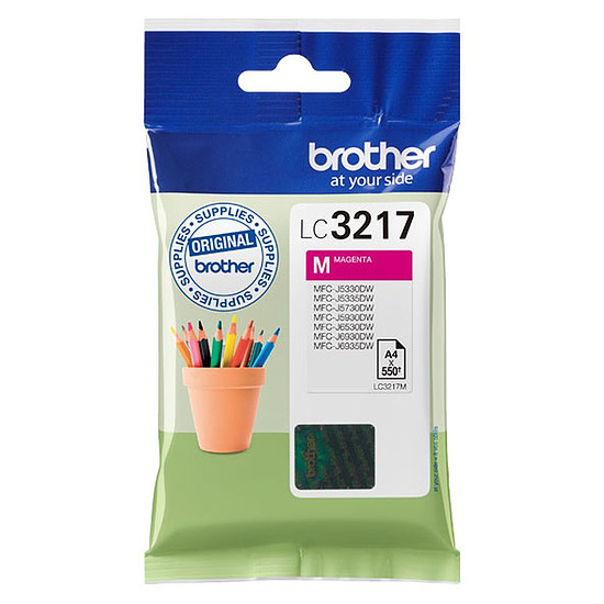 Cartouche d'encre Brother LC3217M Magenta