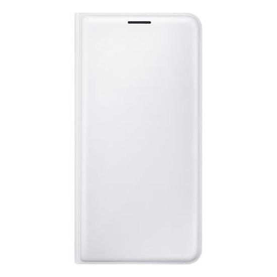 Coque et housse Samsung Flip Wallet Cover (blanc) - Galaxy J5 2016