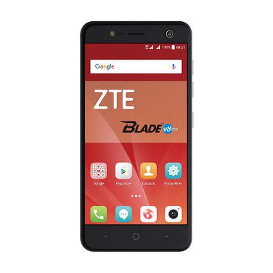 Smartphone et téléphone mobile ZTE Blade V8 Mini (gris foncé)
