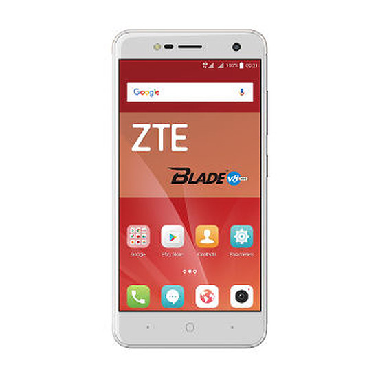 Smartphone et téléphone mobile ZTE Blade V8 Mini (argent)