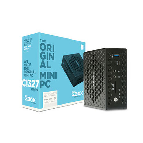 PC de bureau Zotac ZBOX NANO CI327 - Windows 10