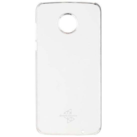 Coque et housse Muvit Coque Crystal (transparent) - Moto Z2 Play - Autre vue