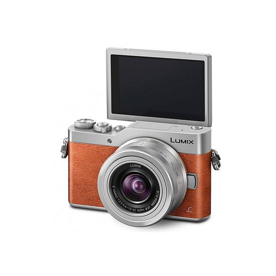 Appareil photo hybride Panasonic Lumix GX800 Marron + 12-32 mm - Autre vue